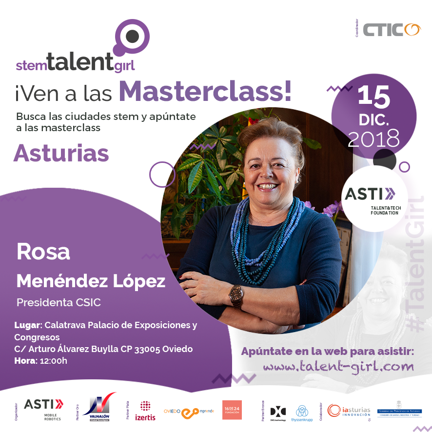 Segunda Masterclass Stem Talent Girl