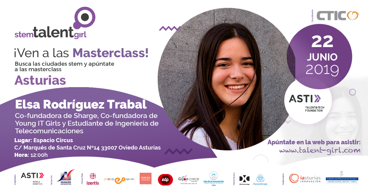8ª masterclass Stem Talent Girl