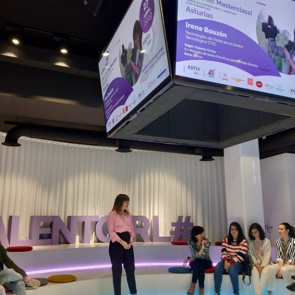 Sexta masterclass proyecto Stem Talent Girl