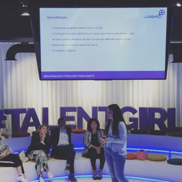 Octava masterclass proyecto Stem Talent Girl
