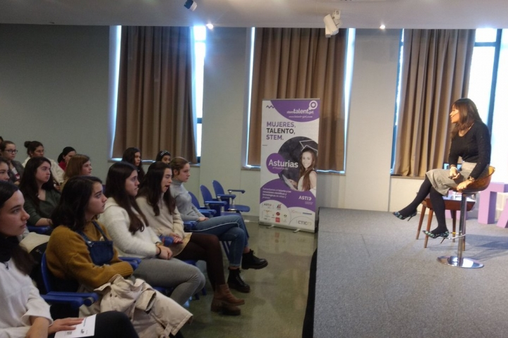 Cuarta masterclass proyecto Stem Talent Girl.