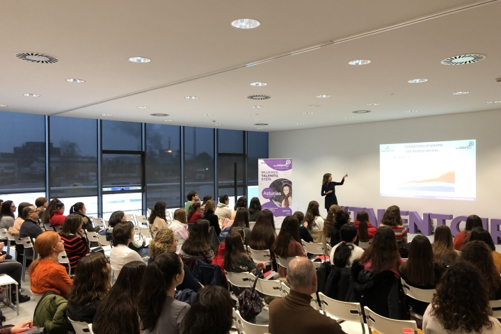 Tercera masterclass proyecto Stem Talent Girl.