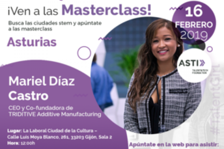 Cuarta masterclass Stem Talent Girl