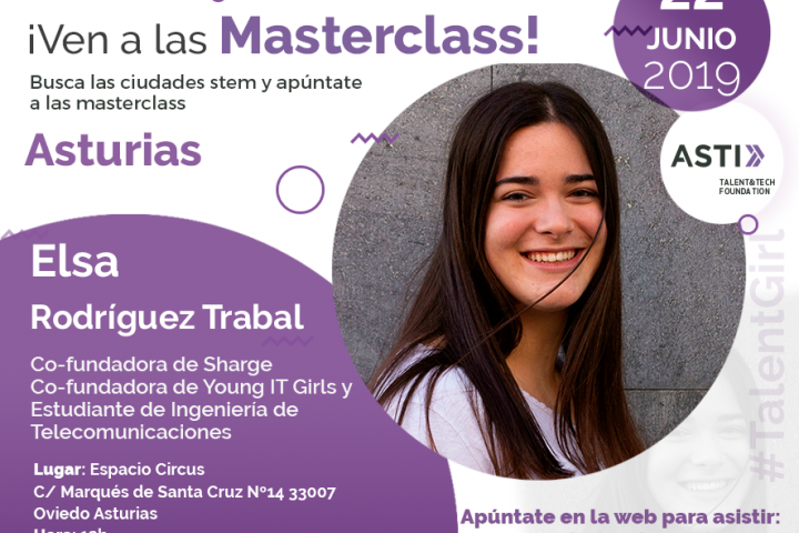Última masterclass proyecto Stem Talent Girl