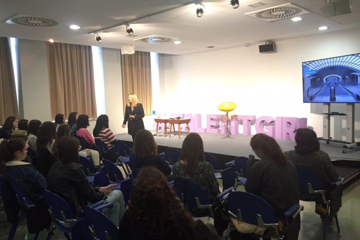 Séptima masterclass proyecto Stem Talent Girl